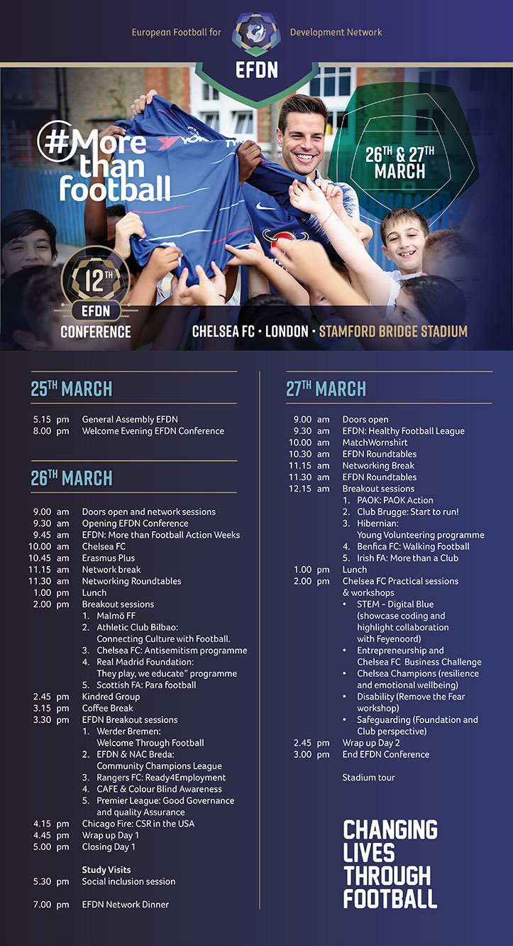 12th EFDN Conference Programme
