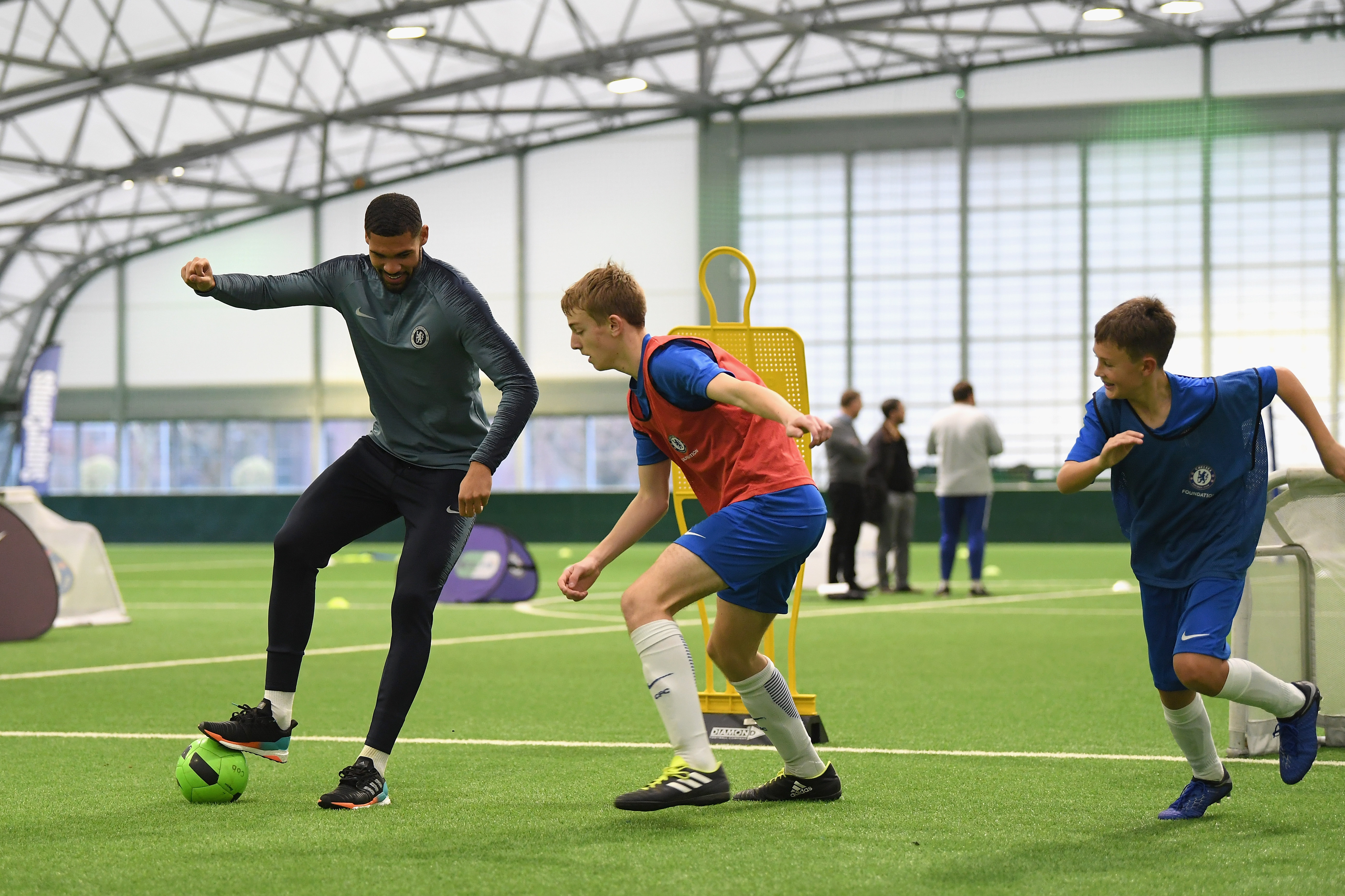Launch of Foundation Soccer Camps - EFDN Conference